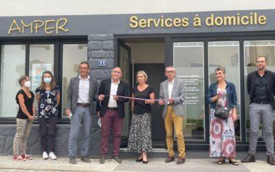 AMPER inaugure sa toute nouvelle agence à Auray !